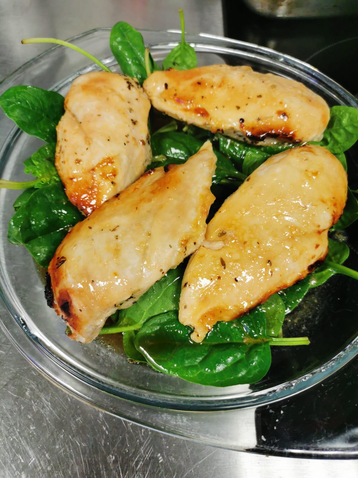 Baked Honey Glazed Chicken