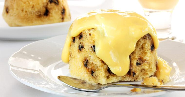 Spotted Dick Suet Pudding